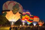 Dansville NY Balloon Glow