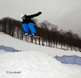 Boarders catch air