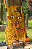 Hindu Tree Shrine