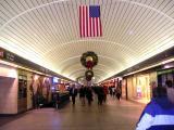 Festive Penn Station