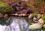 Waterfall at the Botanical gardens in San Antonio