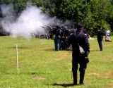 Civil War action on Governors Island