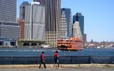 Staten Island Ferry coming in to port