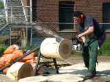 Stihl Timbersports basic training