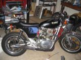 Yamaha XS650 Hotglass Seat Install