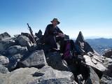 Summit of Mount Davis (3750m)