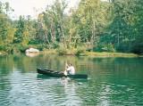 Paddling my Royalex Wenonah Adirondack with Zach Swimming.jpg