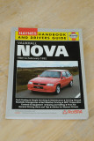 Haynes 1983 –1992 Vauxhall Nova Handbook and Drivers Guide
