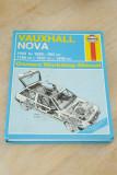 Haynes 1983 – 1989 Vauxhall Nova 1200/1300/1600 Owners Workshop Manual No 909