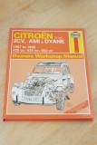 Haynes 1967 – 1990 Citroen 2CV, Ami & Dyane Owners Workshop Manual No 196