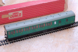 Meccano Hornby Dublo 4085 Suburban Coach Brake/2nd Southern Region with Interior Fittings