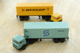 2 x Lima Articulated Lorries