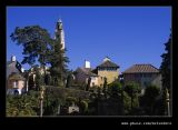 L-R Round House, Bell Tower, Government House, The Dolphin, Portmeirion