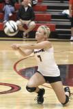 2010 Volleyball vs Carey