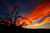 Dusk to Dark in Death Valley