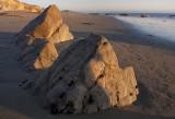 Warm boulders