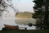 Morgenstemning ved søen