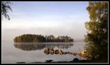 Morning at the local lake