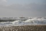 Storm ved Hvide Sande