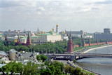 View of Kremlin from Cathedral of Christ the Saviour