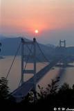 Tsing Ma Bridge at sunset 02