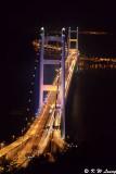 Tsing Ma Bridge at night  03