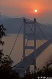 Tsing Ma Bridge at sunset 01