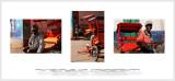 Rickshaws of  Madagascar