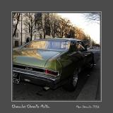 CHEVROLET Chevelle Malibu Paris - France