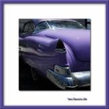 Vivid violet Cadillac, La Habana