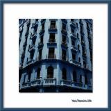 Blue building, La Habana
