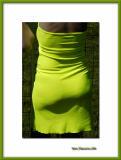 Green gown, Chantilly