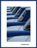 Blue R8 Gordini row, Le Mans