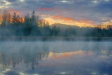 Misty River Sunrise 20081018