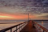 Pier At Dawn 40852