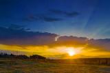 Sunset Cloud Bank 20090424