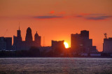 Buffalo Skyline At Sunrise 09691-2