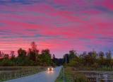 Sunrise On Roses Bridge Causeway 20100916