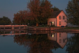 Lockmaster's House At Sunset 23184-6