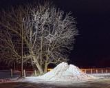 Parking Lot Snow Pile 02777-85