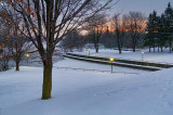 Rideau Canal In Winter 03554-7