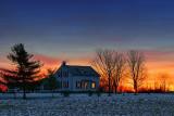 Farmhouse At Dawn 20101225