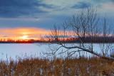 Irish Creek Winter Sunset 20110107