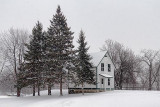 Lockmaster's Watch House In Snowfall 20110108