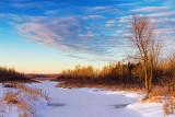 Marshalls Creek At Sunrise 05618