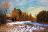 Marshalls Creek At Sunrise 05615