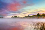 Misty Otter Lake At Sunrise 20120929