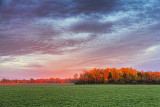 Autumn Landscape At Sunrise 28790
