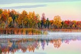 Autumn Swale At Sunrise 28980