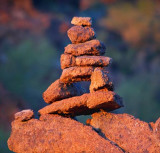 Balanced Rock Sculpture 83117